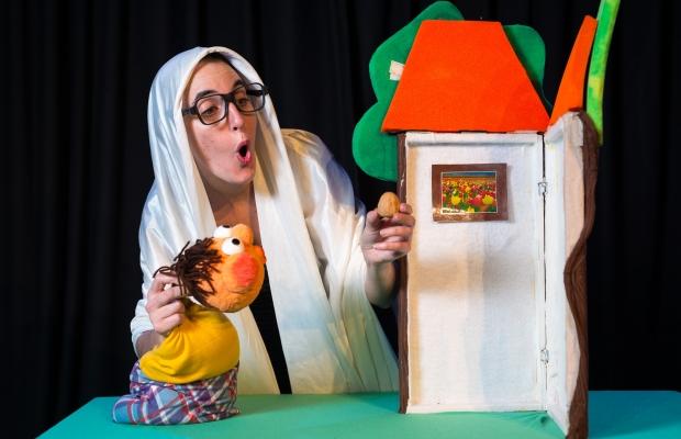 אגוז הפלא, הצגת תיאטרון סיפור, הצגה לילדים בירושלים, תיאטרון הקרון