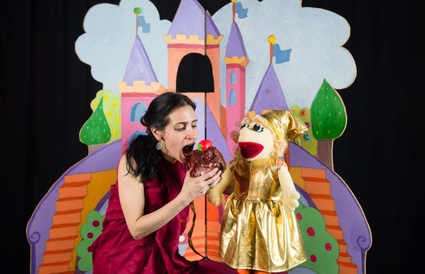 הגמדית והקוסם תותן, תיאטרון סיפור הצגה לילדים, תיאטרון בובות תיאטרון הקרון בירושלים