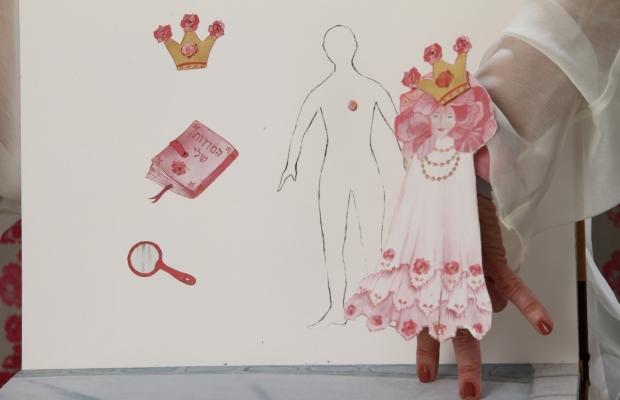 היפיפיה הנרדמת, הצגת ילדים תיאטרון מאויר בתיאטרון הקרון