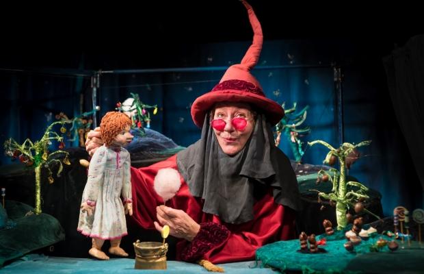 פיית המרציפן, הצגת ילדים תיאטרון בובות בתיאטרון הקרון בירושלים