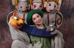 החתול במגפיים, הצגת ילדים תיאטרון בובות בתיאטרון הקרון