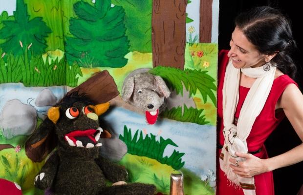 סיפורי יער, תיאטרון סיפור הצגה לילדים, תיאטרון בובות תיאטרון הקרון בירושלים
