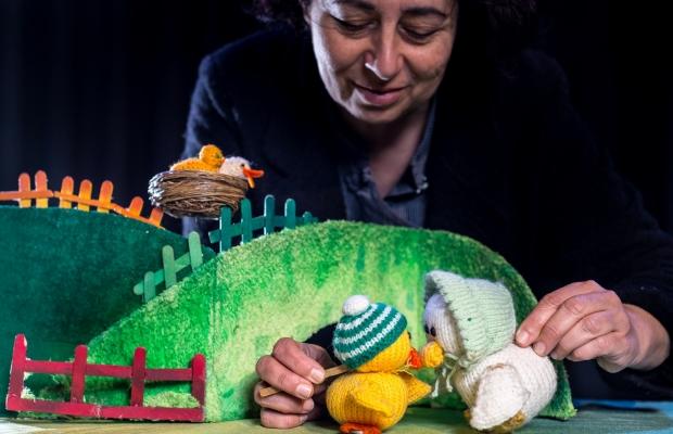 תיאטרון סיפור עם גליה לוי גרד, תיאטרון בובות בתיאטרון הקרון בירושלים